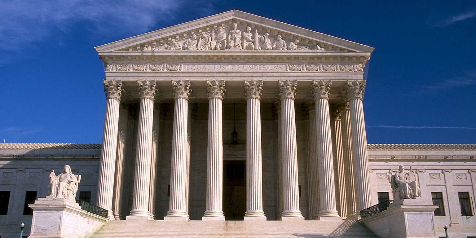 U.S. Supreme Court Building - Rules to Keep the Deferred Action for Childhood Arrivals (DACA) Policy in Place